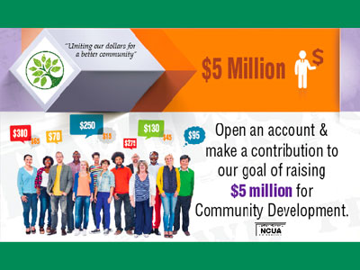 Raise money for Community Development.